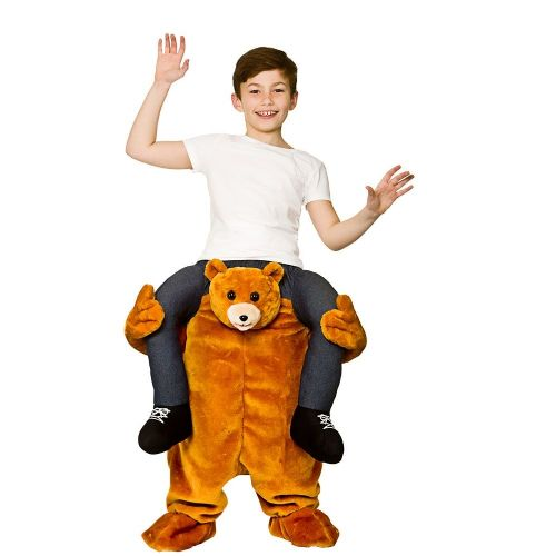 Childrens Carry Me - Teddy Bear Costume Unisex Fancy Dress